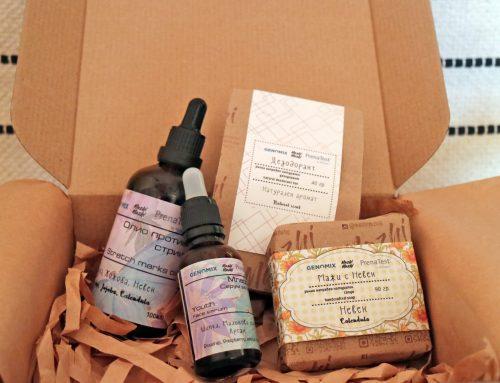 """Вземете подарък: комплект натурална козметика """"Мажи Мажи"""" заедно с избрани пакети Пренатест*"""